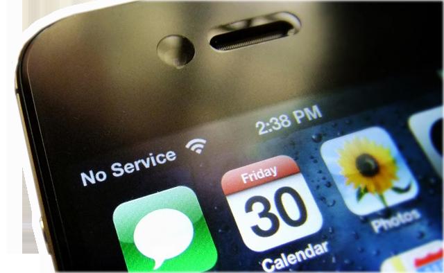 iPhone 7 теряет сигнал сети