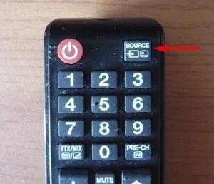 переключение источника сигнала на телевизоре