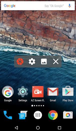 Как снять видео с экрана Android