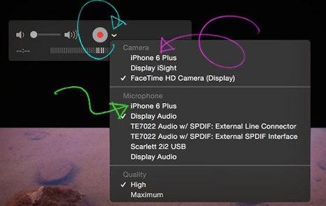 Как снять видео с экрана телефона Android/iOS/Windows Mobile