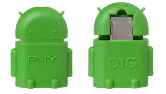 Смартфон Android не видит флешку через OTG кабель