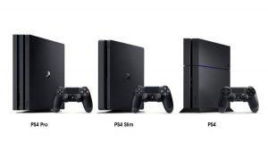Различия PlayStation 4, Slim и Pro