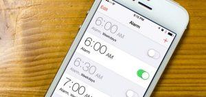 В iPhone не сработал будильник - причины и ремонт